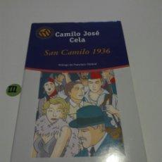 Libros de segunda mano: SAN CAMILO 1936. CAMILO JOSE CELA.. Lote 131621793