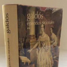 Libros de segunda mano: EPISODIOS NACIONALES 2. BENITO PÉREZ GALDÓS. AGUILAR. 1976. Lote 131642986