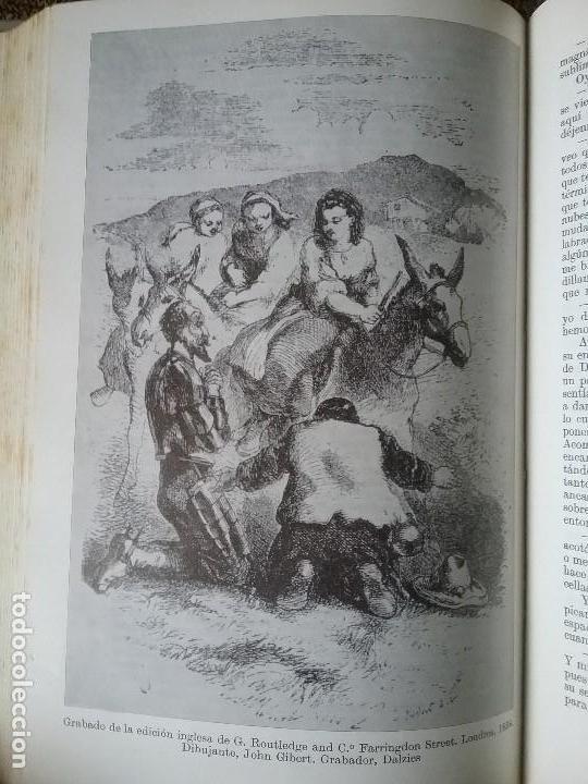 Libros de segunda mano: Quijote. Espasa Calpe, 1967. Ilustraciones de las mas celebradas ediciones de diferentes epocas y - Foto 6 - 132166538