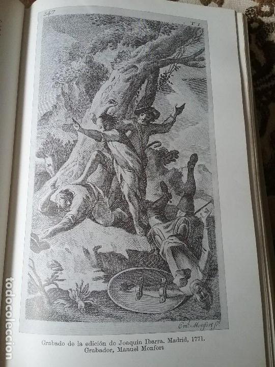 Libros de segunda mano: Quijote. Espasa Calpe, 1967. Ilustraciones de las mas celebradas ediciones de diferentes epocas y - Foto 8 - 132166538