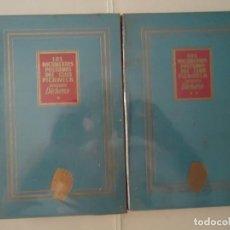 Libros de segunda mano: LIBRO. LOS DOCUMENTOS PÓSTUMOS DEL CLUB PICKWICK, TOMOS UNO Y DOS. DICKENS.1ª EDICIÓN.. Lote 132528470