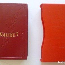 Libros de segunda mano: DAUDET OBRAS INMORTALES EDAF 1968 PAPEL BIBLIA CON ESTUCHE EDICION DE LUJO LAMINAS EN COLOR. Lote 132799442