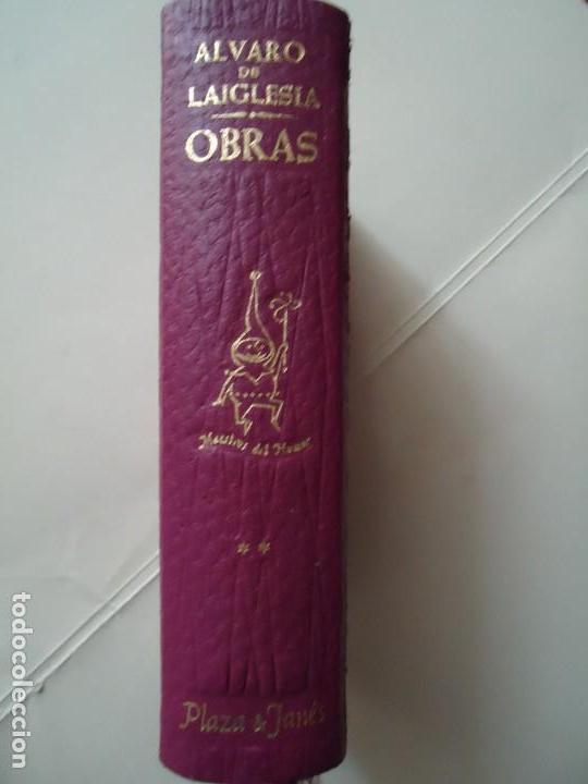 LIBRO. ÁLVARO DE LAIGLESIA. OBRAS, VOLUMEN II - 1975 CON 5 OBRAS. (Libros de Segunda Mano (posteriores a 1936) - Literatura - Narrativa - Clásicos)