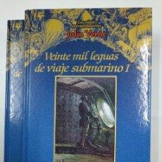 Libros de segunda mano: VEINTE MIL LEGUAS DE VIAJE SUBMARINO LOS VIAJES EXTRAORDINARIOS JULIO VERNE. EDICIONES RUEDA. TDK146. Lote 132925878