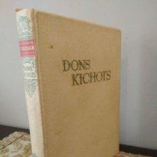 Libros de segunda mano: ATJAUTIGAIS IDALGO LAMANCAS DON KICHOTS - TOMO II - QUIJOTE DE LA MANCHA - RIGA 1956 - . Lote 133010118