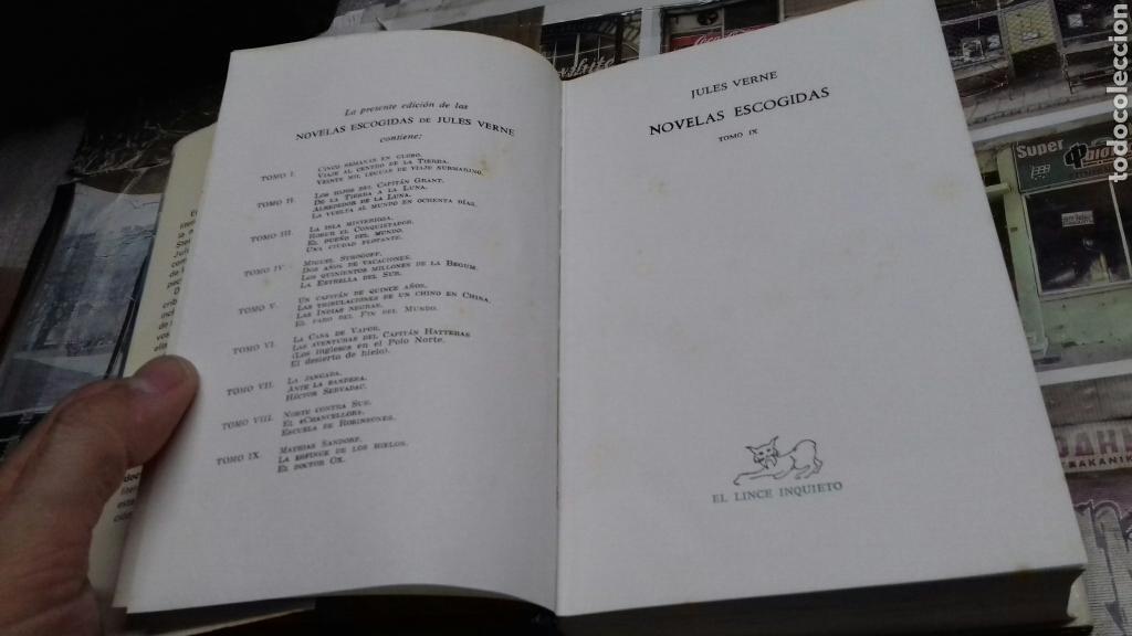 Libros de segunda mano: Novelas escogidas. Julio Verne. aguilar. tomo 9. 1 edicion 1979 - Foto 3 - 133230166