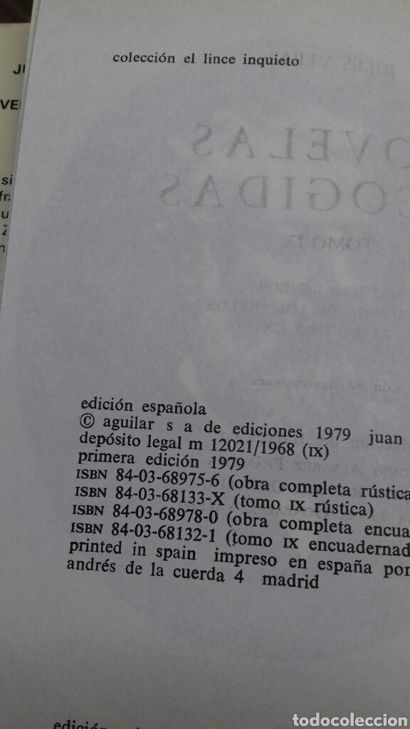 Libros de segunda mano: Novelas escogidas. Julio Verne. aguilar. tomo 9. 1 edicion 1979 - Foto 4 - 133230166