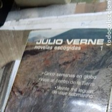 Libros de segunda mano: NOVELAS ESCOGIDAS. JULIO VERNE. AGUILAR. TOMO 1. 2 REIMPRESION 1978. Lote 133230511