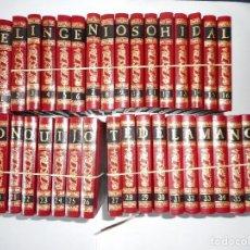 Libros de segunda mano: MIGUEL DE CERVANTES SAAVEDRA DON QUIJOTE DE LA MANCHA ( 38 TOMOS) Y90095. Lote 133305106