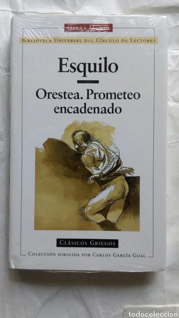 ORESTEA. PROMETEO ENCADENADO. ESQUILO. (Libros de Segunda Mano (posteriores a 1936) - Literatura - Narrativa - Clásicos)