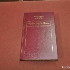 Libros de segunda mano: HISTORIA UNIVERSAL DE LA LITERATURA - VIAJES DE GULLIVER - JONATHAN SWIFT - CL8. Lote 133848354