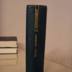 Libros de segunda mano: JOSE DE ECHEGARAY. TEATRO ESCOGIDO. AGUILAR.. Lote 134001830