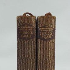 Libros de segunda mano - SHERLOCK HOLMES. OBRAS COMPLETAS. ARTHUR CONAN DOYLE. 2 TOMOS. MADRID. 1953. - 134357862