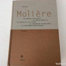 Libros de segunda mano: MOLIERE: EDITORIAL GREDOS BIBLIOTECA UNIVERSAL. IMPECABLE. Lote 134549594
