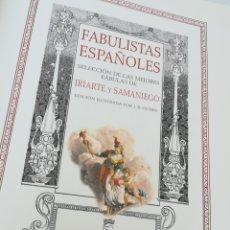 Libros de segunda mano: FÁBULAS ESPAÑOLES. SELECCION DE LAS MEJORES FÁBULAS DE IRIARTE Y SAMANIEGO. ILUSTRACIONES DE J. B. O. Lote 134777723