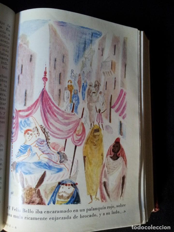 Libros de segunda mano: LAS MIL Y UNA NOCHES TOMO I - EDITORIAL AHR - PRIMERA EDICION 1962 - Foto 7 - 135345506