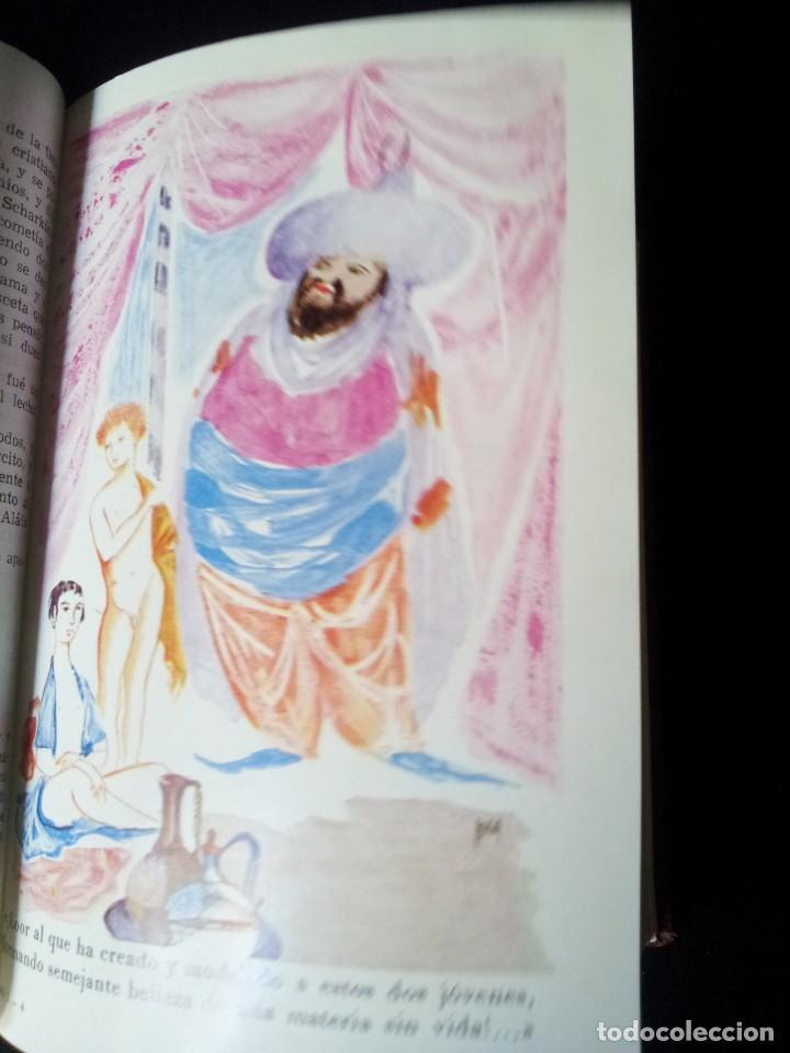 Libros de segunda mano: LAS MIL Y UNA NOCHES TOMO I - EDITORIAL AHR - PRIMERA EDICION 1962 - Foto 8 - 135345506