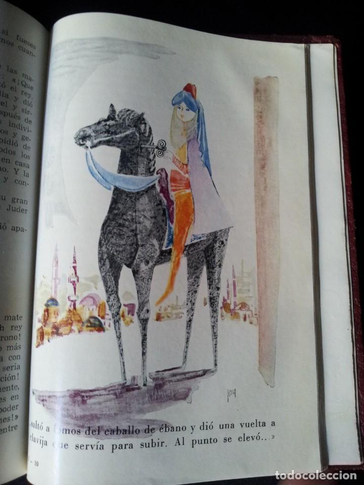 Libros de segunda mano: LAS MIL Y UNA NOCHES TOMO I - EDITORIAL AHR - PRIMERA EDICION 1962 - Foto 9 - 135345506