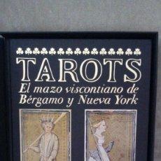 Libros de segunda mano: ITALO CALVINO - TAROTS. EL MAZO VISCONTIANO DE BÉRGAMO Y NUEVA YORK - FRANCO MARIA RICCI, 1986 . Lote 135460826