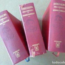 Libros de segunda mano: BENITO PEREZ GALDOS OBRAS COMPLETAS EPISODIOS NACIONALES . 3 TOMOS. 1968. Lote 135888506