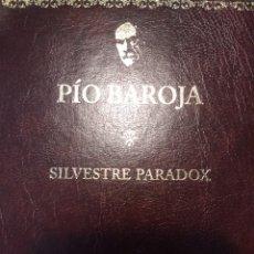 Libros de segunda mano: SILVESTRE PARADOX. PÍO BAROJA. NARRATIVA COMPLETA PÍO BAROJA. ILUSTRADO POR RICARDO BAROJA. AÑO 2005. Lote 135910463