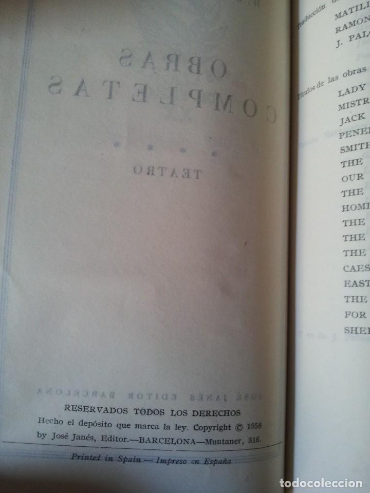 Libros de segunda mano: W. SOMERSET MAUGHAM - OBRAS COMPLETAS 4 TOMOS - PLAZA & JANES EDITOR - Foto 10 - 135999874