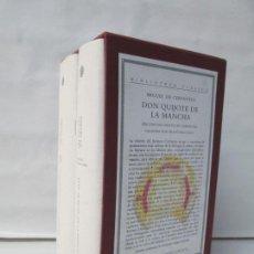 Libros de segunda mano: CERVANTES. DON QUIJOTE DE LA MANCHA. ED. DEL INSTITUTO CERVANTES DIRIGIDA FRANCISCO RICO. CON CD. Lote 136019414
