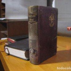 Libros de segunda mano: GUSTAVO ADOLFO BÉCQUER - OBRAS COMPLETAS - AGUILAR JOYA - 1946. Lote 198802875