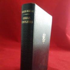Libros de segunda mano: FRANÇOIS MAURIAC. OBRAS COMPLETAS TOMO III. PLAZA & JANÉS. Lote 150216345