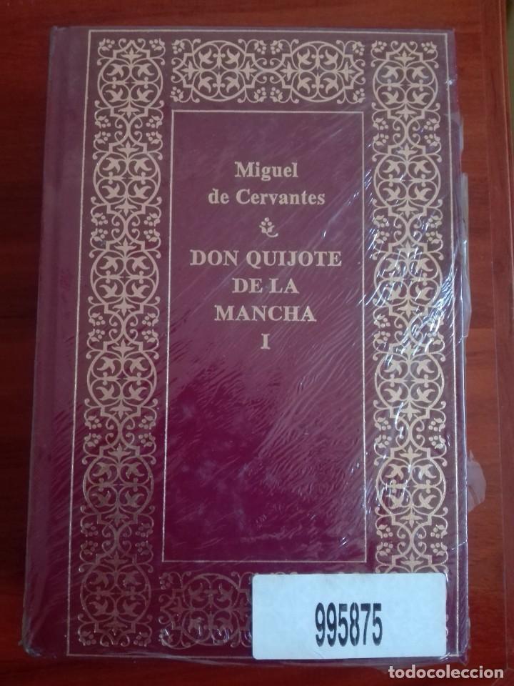 DON QUIJOTE DE LA MANCHA EDICIÓN LUJO PLANETA CURIOSO ERROR ENCUADERNACIÓN NUEVO PRECINTADO (Libros de Segunda Mano (posteriores a 1936) - Literatura - Narrativa - Clásicos)