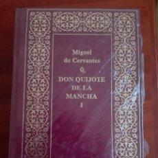 Libros de segunda mano: DON QUIJOTE DE LA MANCHA EDICIÓN LUJO PLANETA CURIOSO ERROR ENCUADERNACIÓN NUEVO PRECINTADO. Lote 137540650