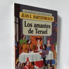 Libros de segunda mano: LOS AMANTES DE TERUEL | HARTZENBUSCH, JUAN EUGENIO| EDICOMUNICACIÓN 1995. Lote 137801382