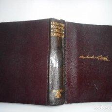 Libros de segunda mano: FIODOR MIJAILOVICH DOSTOYEVSKI OBRAS COMPLETAS ( 3 TOMOS) Y90790. Lote 138198354