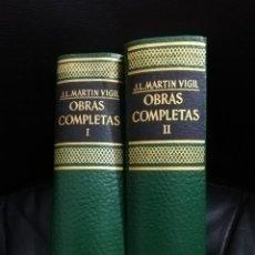Libros de segunda mano: OBRAS COMPLETAS I Y II - J.L. MARTIN VIGIL. Lote 138614406