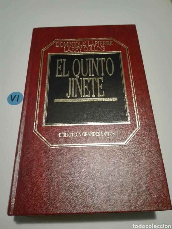 EL QUINTO JINETE. DOMINIQUE LAPIERRE, LARRY COLLINS. BIBLIOTECA GRANDES ÉXITOS. (Libros de Segunda Mano (posteriores a 1936) - Literatura - Narrativa - Clásicos)
