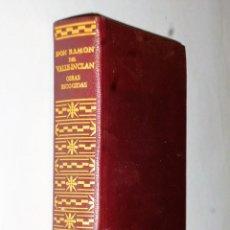 Libros de segunda mano: OBRAS ESCOGIDAS DE DON RAMÓN DEL VALLE-INCLÁN. Lote 138919746