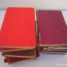 Libros de segunda mano: LOTE 11 LIBROS EDITORIAL EVA LOMOS MUY MAL PARA RESTAURAR INTERIOR BIEN. Lote 139286142