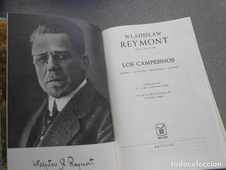 Libros de segunda mano: LOS CAMPESINOS. WLADISLAW REYMONT - Foto 2 - 261153325