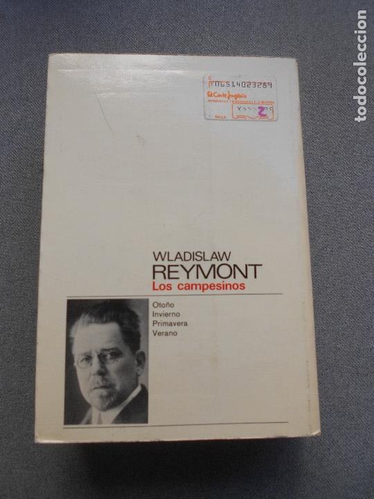 Libros de segunda mano: LOS CAMPESINOS. WLADISLAW REYMONT - Foto 4 - 261153325