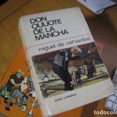 Libros de segunda mano: DON QUIJOTE DE LA MANCHA,CERVANTES,1966,BRUGUERA ED. Lote 139420110