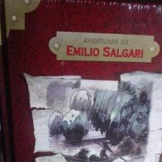 Libros de segunda mano: LOTE TRES LIBROS COLECCIÓN AVENTURAS DE EMILIO SALGARI TOTALMENTE NUEVOS. Lote 139444038