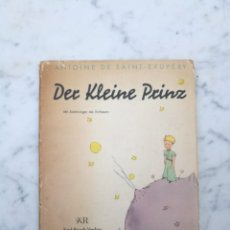 Libros de segunda mano: DER KLEINE PRINZE AÑO 1954 EL PRINCIPITO. Lote 139573318
