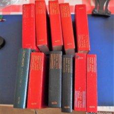 Libros de segunda mano: LOTE X 11 VOLÚMENES EDITORIAL AGUILAR ORIGINALES AÑOS 60. BUEN ESTADO GENERAL. Lote 139810218