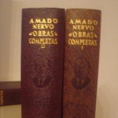 Libros de segunda mano: AMADO NERVO. OBRAS COMPLETAS. AGUILAR. BUEN ESTADO.. Lote 139877594