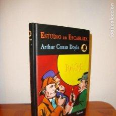 Libros de segunda mano: ESTUDIO EN ESCARLATA - ARTHUR CONAN DOYLE - VALDEMAR, MUY BUEN ESTADO. Lote 139916842