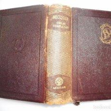 Libros de segunda mano: GUSTAVO ADOLFO BECKER OBRAS COMPLETAS Y91012. Lote 139995074