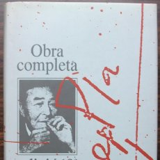 Libros de segunda mano: JOSEP PLA. OBRA COMPLETA. VOL. 3. EDICIO 10-E ANIVERSARI. PRIMERA VOLADA. EL NORD.. Lote 140133110