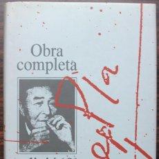 Libros de segunda mano: JOSEP PLA. OBRA COMPLETA. VOL.10. EDICIO 10-E ANIVERSARI. ALBUM DE FONTCLARA. RETRATS DE PASSAPORT. Lote 140134946
