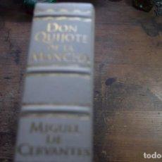 Libros de segunda mano: DON QUIJOTE DE LA MANCHA, MIGUEL DE CERVANTES, EDITADO POR VODAFONE COMO REFALO A CLIENTES, ESPASA. Lote 140375094