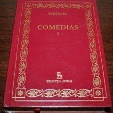 Libros de segunda mano: TERENCIO - COMEDIAS I - BIBLIOTECA GREDOS - 2007. Lote 140477846